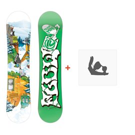 Snowboard Flow Micron Mini 2015 + BindungenFD14Y3MINI