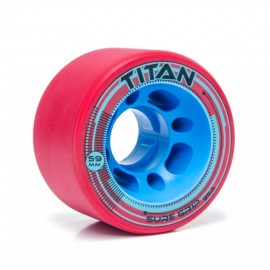 Suregrip Quad Wheels Titan Red 2017