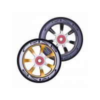 Crisp Hollowtech Spoked Wheels 110mm, Black, Gold, Black, Pair 20171216552