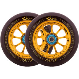 River Logan The Angler Fuller Complete Scooter Wheels 2-pack 2018RVWHRP10LF