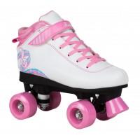 Rookie Rollerskates Rhythm White Pink 2019