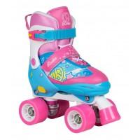 Rookie Adjustable Skate Fab Junior Blue Pink