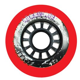 Powerslide Hurricane Red Wheel 4-pack 2017905194