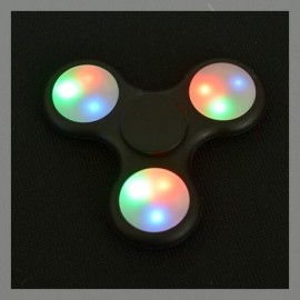 Hand Spinner LED Noir 2017