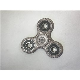 Hand Spinner Woodstock / Gris-Or