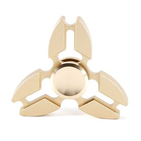 Hand Spinner Tri Metal Fidget Ninja / Gold 2017