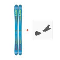 Ski Line Gizmo 2018 + Fixation de ski19B0303.101