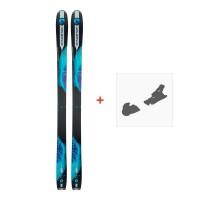 Ski Dynastar Legend W88 2018 + Fixation de skiDRG03S7