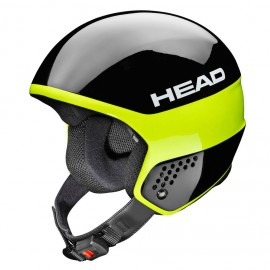 Casque de Ski Head Stivot Race Carbon Black Lime 2018320017
