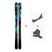 Ski K2 Empress 2018 + Fixations randonnée + Peau10B0701.101.1