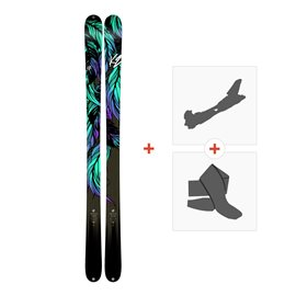 Ski K2 Empress 2018 + Alpine Touring Bindings + Climbing skin10B0701.101.1
