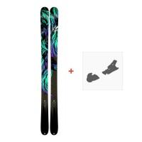 Ski K2 Empress 2018 + Bindungen10B0701.101.1