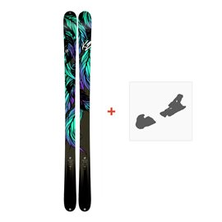 Ski K2 Empress 2018 + Fixation de ski10B0701.101.1