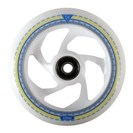 AO Mandala white 5 Hole Wheel 110mm ICl. Titen Abec 7AO11944