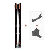 Ski Dynastar Vertical Bear FRA 2018 + Tourenbindung + FelleDRG02L2