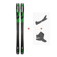 Ski Dynastar Vertical Deer 2018 + Fixations randonnée + PeauDRG01L8