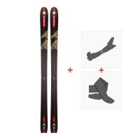 Ski Dynastar Vertical Eagle 2018 + Fixations randonnée + PeauDRG01L7