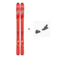 Ski K2 Talkback 96 2018 + Fixation ski10B0600.101.