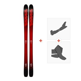 Ski K2 Pinnacle 85 2018 + Fixations randonnée + Peau10B0104.101.1