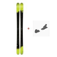 Ski K2 Sight 2018 + Fixation de ski