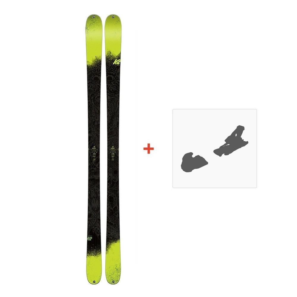 Ski K2 Sight 2018 + Fixation de ski10B0304.101.1