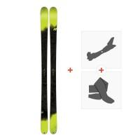 Ski K2 Sight 2018 + Fixations randonnée + Peau10B0304.101.1
