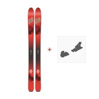 Ski K2 Wayback 104 2018 + Skibindungen10B0200.101