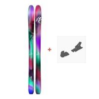 Ski K2 Luv Boat 105 2018 + Fixation de ski10A0102.101.1