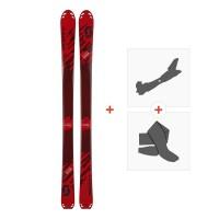 Ski Scott Superguide 88 W's 2018 + Fixations randonnée + Peau254212