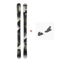 Ski Scott Punisher 105 2018 + Fixation de ski254207