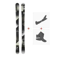 Ski Scott Punisher 105 2018 + Fixations randonnée + Peau254207