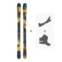Ski Scott Punisher 95 2018 + Fixations randonnée + Peau254208