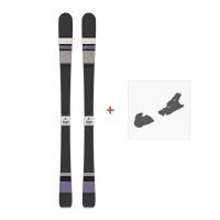 Ski Scott Black Majic 2015 + Fixation de ski236392