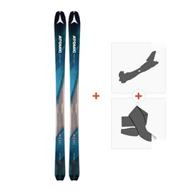 Ski Atomic Backland 85 2018 + Tourenbindung und FelleAA0026640