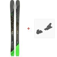 Ski Elan Ripstick 86 2018 + SkibindungenADDCVM