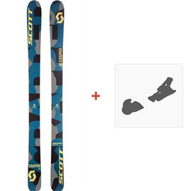 Ski Scott Kid Scrapper 2017 + Fixation de ski244241