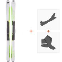 Ski Völkl Vta 80 Lite 2017 + Fixations randonnée + Peau116356