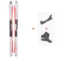 Ski Völkl Vta 88 Lite 2017 + Fixations randonnée + Peau116350