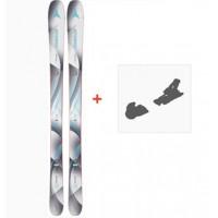 Ski Atomic Vantage Wmn 85 2018 + Fixation de skiAA0026620