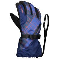 Scott Glove JR Ultimate Premium pacific blue/maroccan red254570