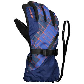 Scott Glove JR Ultimate Premium pacific blue/maroccan red254570
