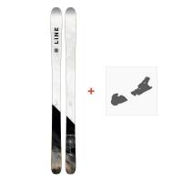 Ski Line Supernatural 86 2018 + Fixation de ski19B0104.101