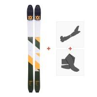 Ski Volkl VTA 98 2018 + Fixations randonnée + Peau117378
