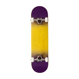 "Rocket Complete Skateboard Twin Fade Series Yellow Purple 7.75\"" 2017RKT-COM-1524"