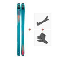 Ski Dynafit Tour 88 W 2019 + Fixations randonnée + Peau08-0000048462