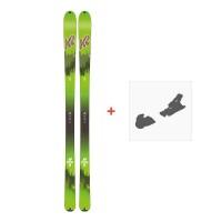Ski K2 Wayback 88 Ecore 2020 + Fixations de ski10B0202.101