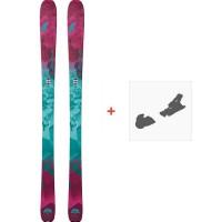 Ski Nordica Astral 88 Flat 2018 + Fixation de ski0A709100.001