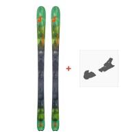 Ski Nordica Navigator 90 Flat 2018 + Fixation de ski0A708500.001