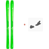 Ski Elan Ibex 84 Carbon 2019 + SkibindungenADMDBF