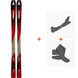 Ski Atomic Backland 78 2018 + Alpine Touring Bindings + Climbing skinAA0026638